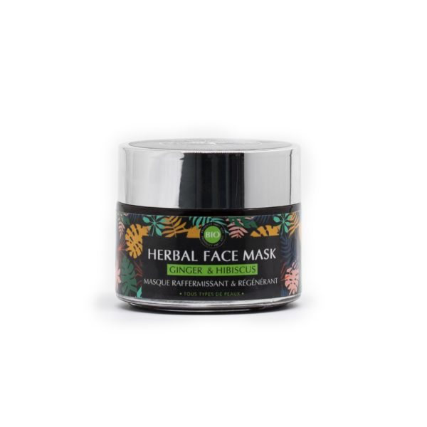Masque Visage Hibiscus & Gingembre