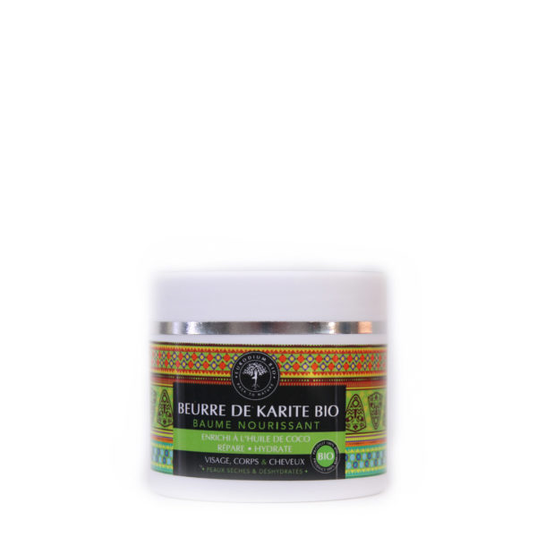 Baume nourrissant – beurre de karité bio enrichi a l'huile de noix de coco