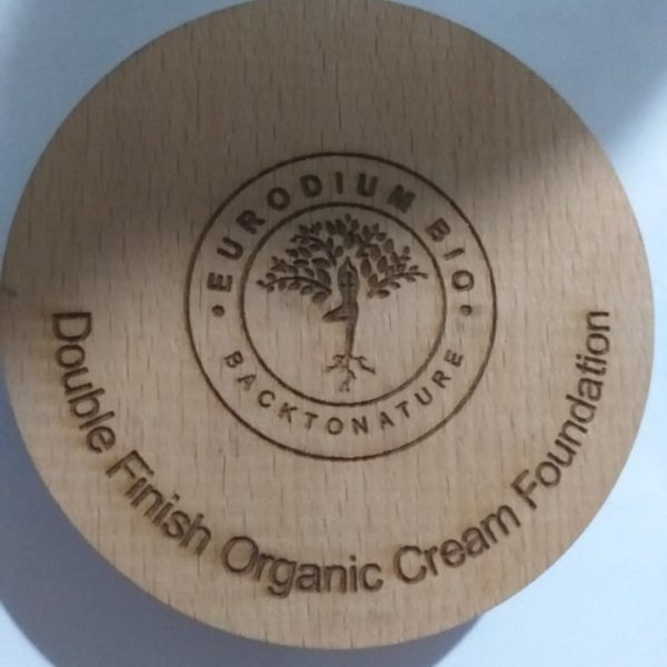 Fond de Teint 100% Bio – Crème Mat Poudre  – Double Finish Organic Cream Foundation Eurodium Bio