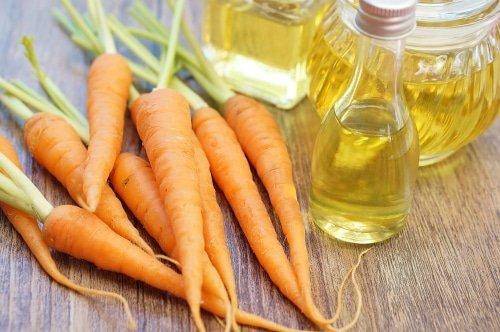 PEAU TERNE, Le carotte effet bon mine