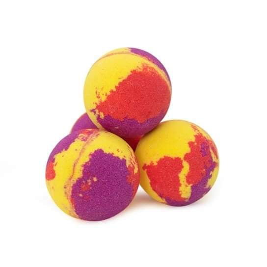 Bombe de Bain Effervescente – Yalow Rock au zeste de citron et lavande
