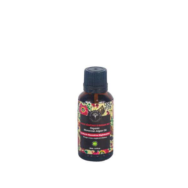Huile d'argan 100% Pure et naturelle
