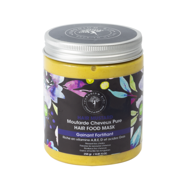 HAIR MOUTARDE – MASQUE CHEVEUX MOUTARDE
