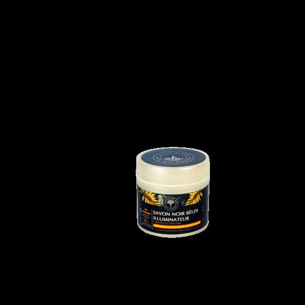 Savon Noir Curcuma Carotte illuminateur eclaircissant
